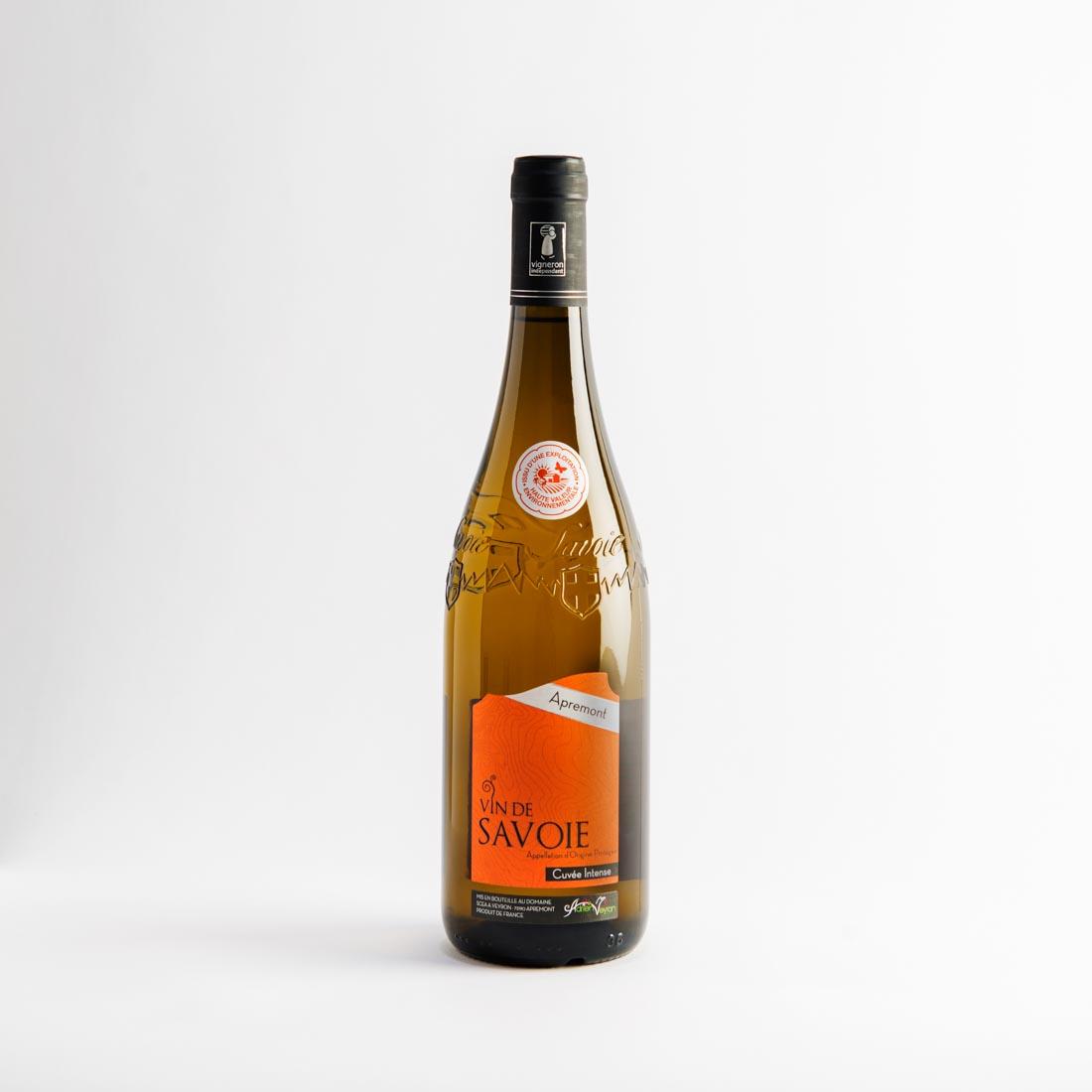 vins de savoie apremont intense adrien veyron et fils